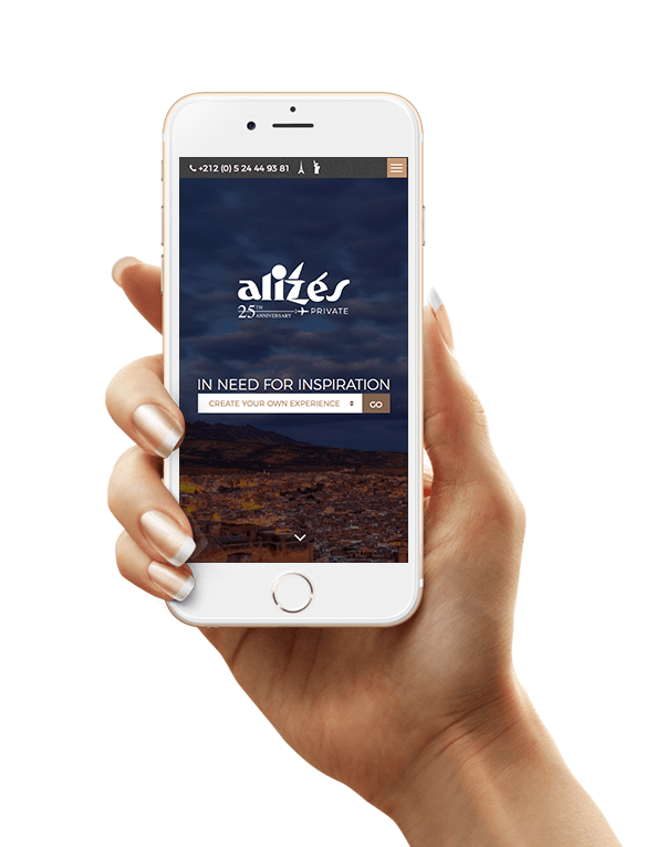 Site Mobile Alizes Private