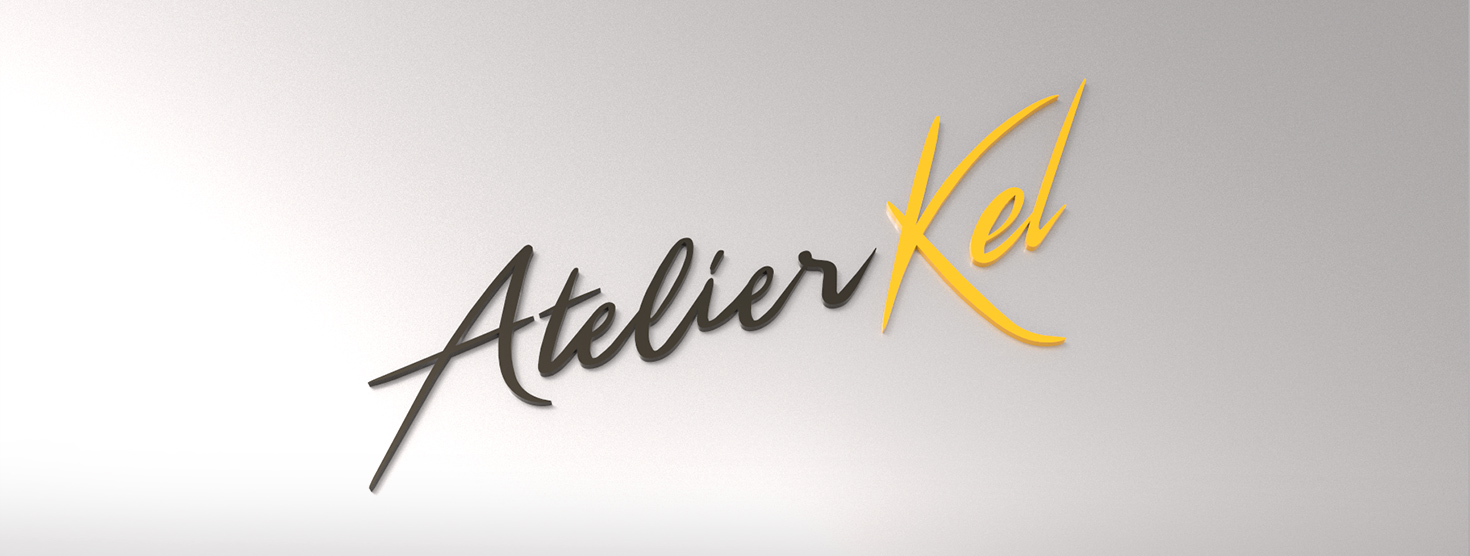 conception logo Atelier Kel à Marrakech